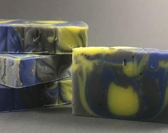 Cool Tides | Men's Line | Artisan Soap | Bubbly Designs