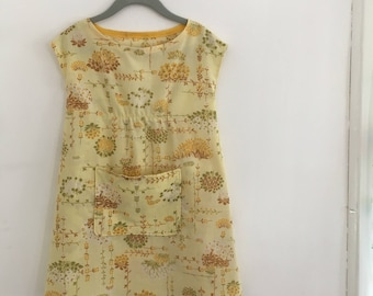Girls Toddler Dress/Frock with Pocket Size 3/4