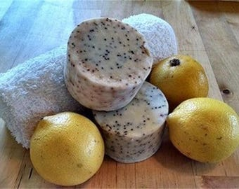 Vegan Bath Soaps made from certified organic Olive Oil and Shea Butter