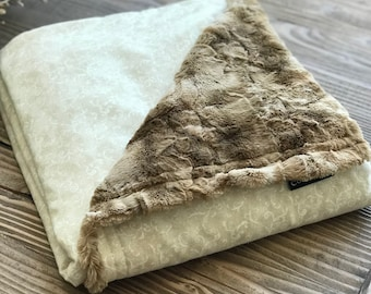 Luxury Weighted Blanket ~ Glass Beads