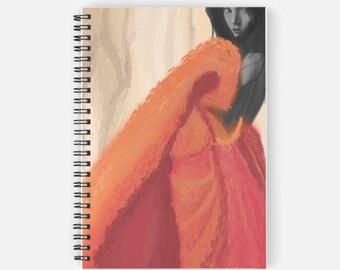 Spiral Notebook: Autumnal Swirl