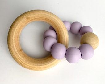Teether Ring - classic purple