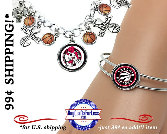 TORONTO Basketball BRACELET, CHooSE Style and Design - Super CUTE!  +FReE SHiPPiNG & Discounts*