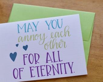 Annoy All Eternity Card