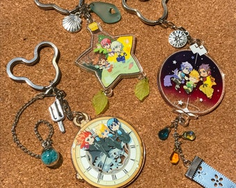 Kingdom Hearts Trio Charms