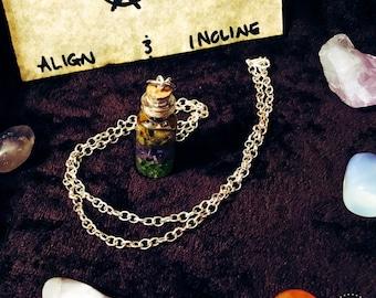 Anti-Addiction/Compulsive Behavior Crystal Essence Necklace