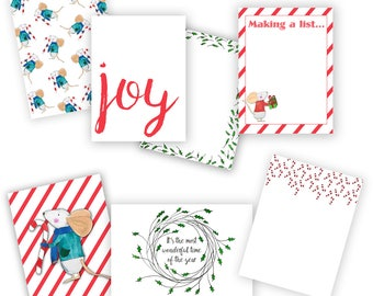 Not a Creature Was Stirring Journal Card Pack