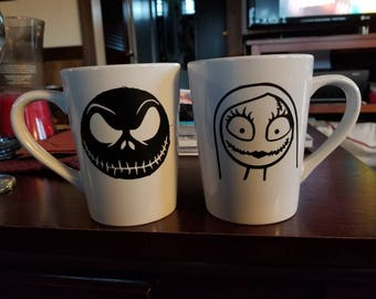Nightmare before Christmas coffee mugs