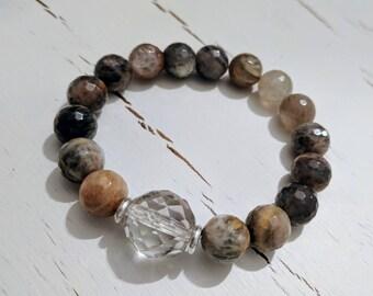 Black sunstone bracelet