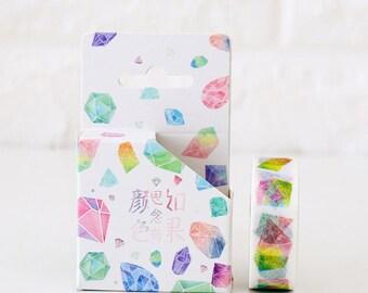 Watercolour Crystal Washi Tape