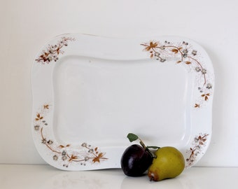 Large Porcelain Serving Platter LS&S
