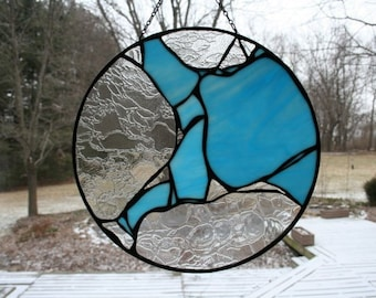 Stained Glass Panel Abstract