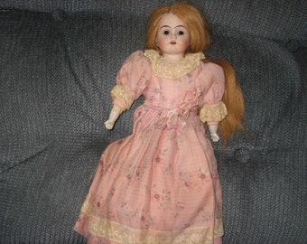 """Armand Marseille """"Mabel"""" antique doll - 14"""" - (has issues)"""