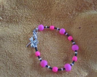 Hot Pink Petite bracelet