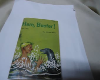 Vintage 1961 Here, Buster Paperback Book by Archie Binns, collectable