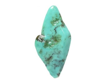 Turquoise Blue Green Tumble Polished Semiprecious gemstone Natural Color, Southwestern gem, loose unset semi precious jewel