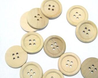 Buttons Dekoknöpfe button Natural Nature ornament Buttons
