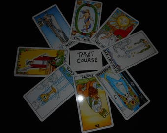 Tarot Course Video Thumb drive