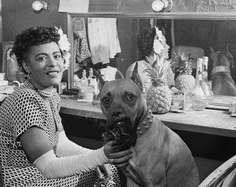 Billie Holiday - New York City, 1946 - Jazz - Photo - Photography - Art - Photograph - Vintage - Music - Singer - Women of Jazz - Harlem