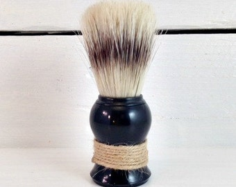 Boar Bristle Shave Brush, Mens Shaving Brush, Manly Shaving Gifts, Brush For Shaving, Acrylic Shave Brush, Wet Shave, Saving Soap Brush
