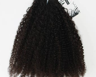 Indian Afro Kinky Curly Hair