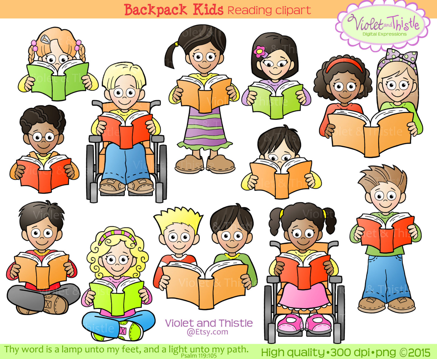 kids reading clipart kids clip art children reading school clip art rh etsystudio com Free Art Clip Art School Symbols Clip Art