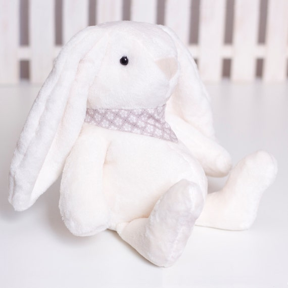 Fluffy Bunny Sewing Pattern, Soft Animal PDF Tutorial, Bunny rabbit ...