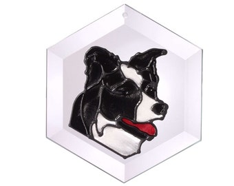 Border Collie Sun Catcher