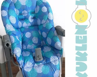 Peg Perego Tatamia cover for the highchair, Double-sided removable cover, seat pad Peg Perego Siesta, Prima Pappa, Rocker, Best, Zero, Diner