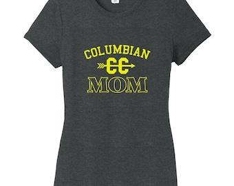 Custom Cross Country Mom - Personalized Sports Women's Fitted T-Shirt