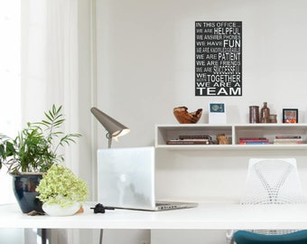 office wall. Wall Decor For Office