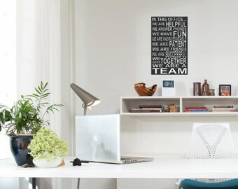wall art office. Office Decor - Wall Art Singage In This N
