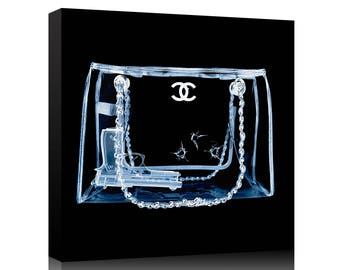 Chanel Couture Xray bullet hole Bag