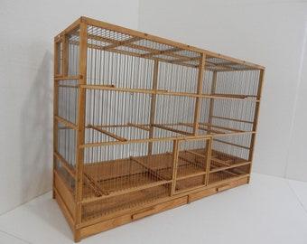 Handmade Wooden Birdcage