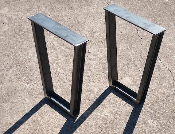 Steel Trapezoid Legs Coffee Table Metal Legs Table Legs