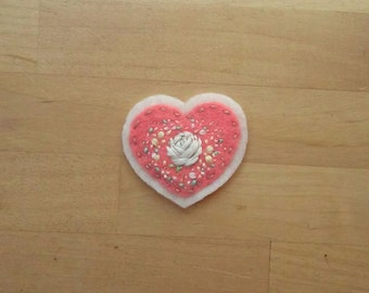 Tenderheart Badge: Rose (patch, pin, brooch, magnet)