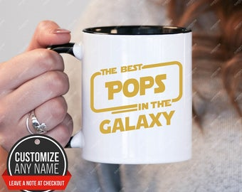 The best Pops in the galaxy, Pops Gift, Pops Birthday, Pops Mug, Pops Gift Idea, Pops Birthday Gift, Fathers Day