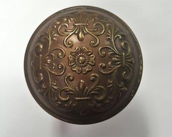Floral Antique Doorknob 530110