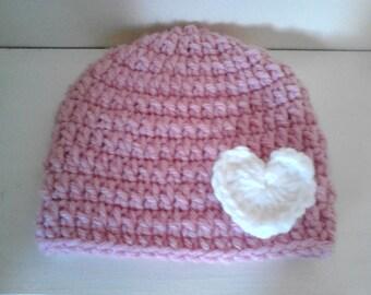 toddler girl hat, Crochet girl hat, chunky hat, chunky girl hat, crochet baby hat