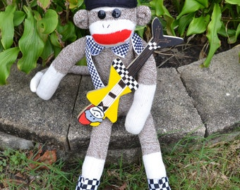Cheap Trick Inspried Sock Monkey Doll