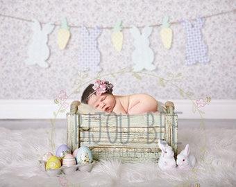 Easter Digital Backdrop, Digital Background, Photography, Newborn Backdrop, Newborn, Newborn Photography, Backdrop Bundle