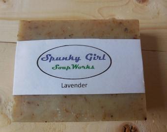 Basic Lavender Soap