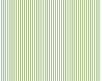 Riley Blake Designs, 1/8 Inch Stripe in Green (C495)