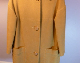 Vintage Women's S/M Water Resistant Coat Betty Rose Montoro Suede by EARL-GLO