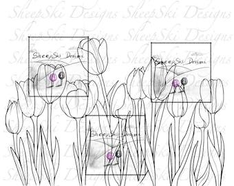 Tulip Border - image no 150