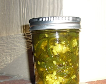 Cowboy Candy (Sweet Pickled Jalapenos) - 8 oz.