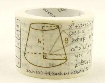Archimedes - Japanese Washi Masking Tape - 30mm wide - 5.5 yard