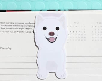 Shiba Inu Dog Magnetic Bookmark (Jumbo)