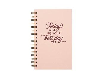Best Day Yet Weekly Planner Journal - Agenda | Desk Planner | Weekly Planner | Journal | Undated