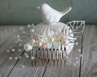 Wedding Comb, Handmade Comb, Decorative Comb